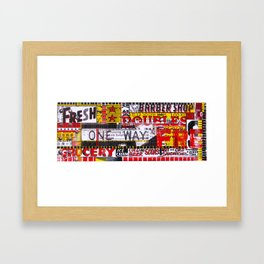 Combination Platter #23 Framed Art Print