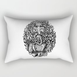 super gas mask Rectangular Pillow