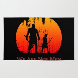 We Are Not Men Rug