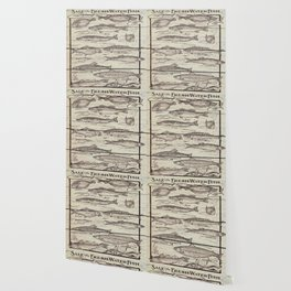 father's day fisherman gifts whitewashed wood lakehouse freshwater fish Wallpaper