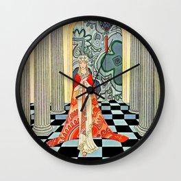"""Tanglewood Tales"" by Virginia Frances Sterrett Wall Clock"