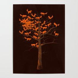 Blazing Fox Tree II Poster