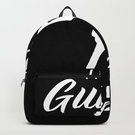 i play guitar Backpack