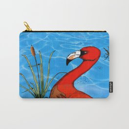Flamingo Strut Carry-All Pouch