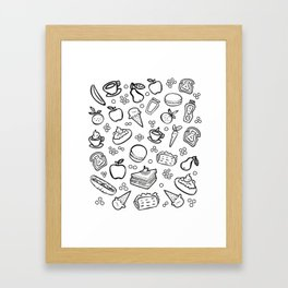 Fun Food Framed Art Print