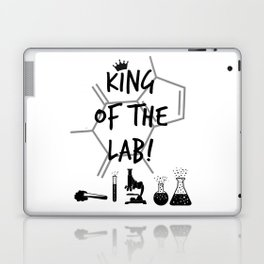 King of The Lab Laptop & iPad Skin