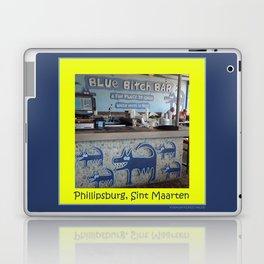 Blue Bitch Bar, St. Maartin Resort Travel Laptop & iPad Skin