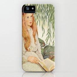 Seven Ages of Childhood by Jessie WIlcox Smith iPhone Case