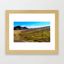 Land of Fire and Ice 3 Framed Art Print