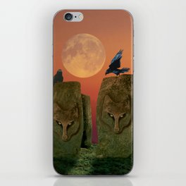 Wolfhenge iPhone Skin