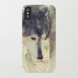 Wolfs Beauty iPhone Case