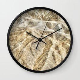 Death Valley desert Wall Clock