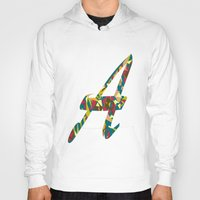 font Hoodies featuring A font by riz lau