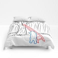 DA BEARS - CLIMBING Comforters