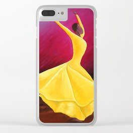 Judith Jamison Clear iPhone Case