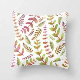 Fall Changing Leaves Throw Pillow