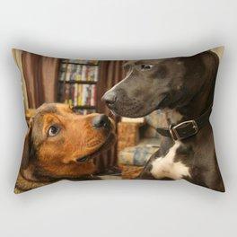 Lola and Boogy  Rectangular Pillow
