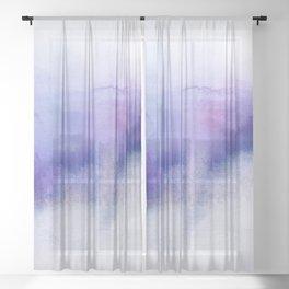 Subtle Horizon Sheer Curtain