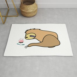 Cute Character Sloth Rug