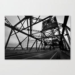 Port of Tacoma 11th St. Bridge Canvas Print