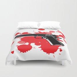Guns Kill Duvet Cover