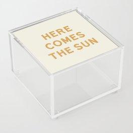 Here comes the sun Acrylic Box