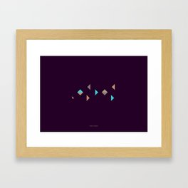 London - Citries Project Framed Art Print