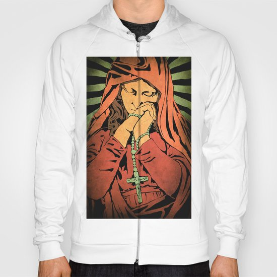Virgin Mary (In color) Hoody