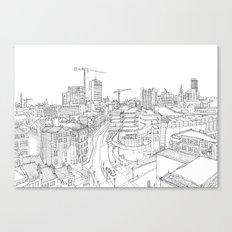 Manchester City Centre Canvas Print