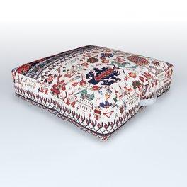 Shirvan East Caucasus Rug Print Outdoor Floor Cushion