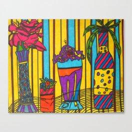 Mood Cafe Canvas Print