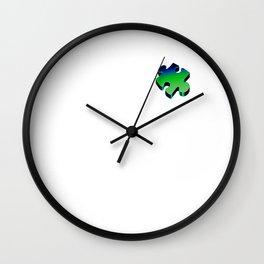 Puzzling Wall Clock