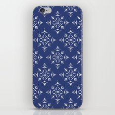 Paper Cut Snowflake Pattern iPhone & iPod Skin