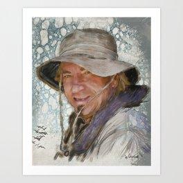 Joe Walsh, musician Art Print