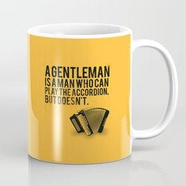 Definition of a Gentleman Coffee Mug