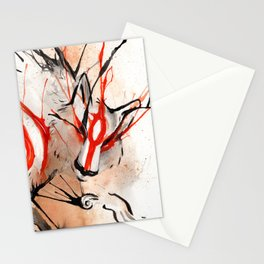 Okami Amaterasu Ink Stationery Cards