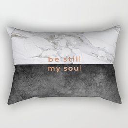 Be Still My Soul, Bedroom Art Rectangular Pillow