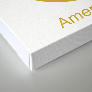 American Gold Canvas Print