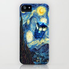 Soaring Tardis doctor who starry night iPhone 4 4s 5 5c 6, pillow case, mugs and tshirt iPhone (5, 5s) Slim Case