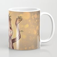 groot Mugs featuring Baby Groot by bookotter