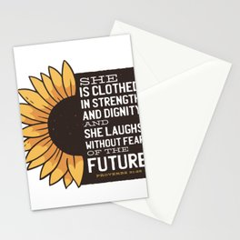 Sunflower Future Stationery Cards