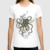 wicked T-shirts featuring Octopsychedelia by TAOJB