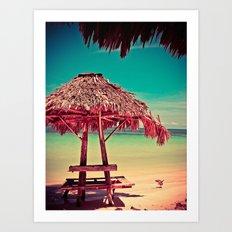 Cayo CoCo Art Print