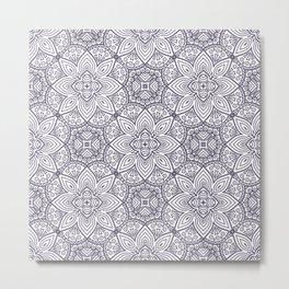 Mandala (Seamless) Metal Print