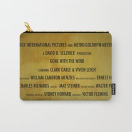 Gone with the... cast & crew Carry-All Pouch