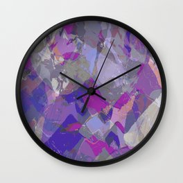 Moon Beam Abstract Wall Clock