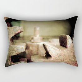 Metal Two Rectangular Pillow