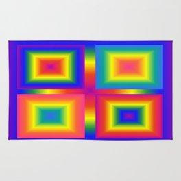 Bright squares 001 Rug