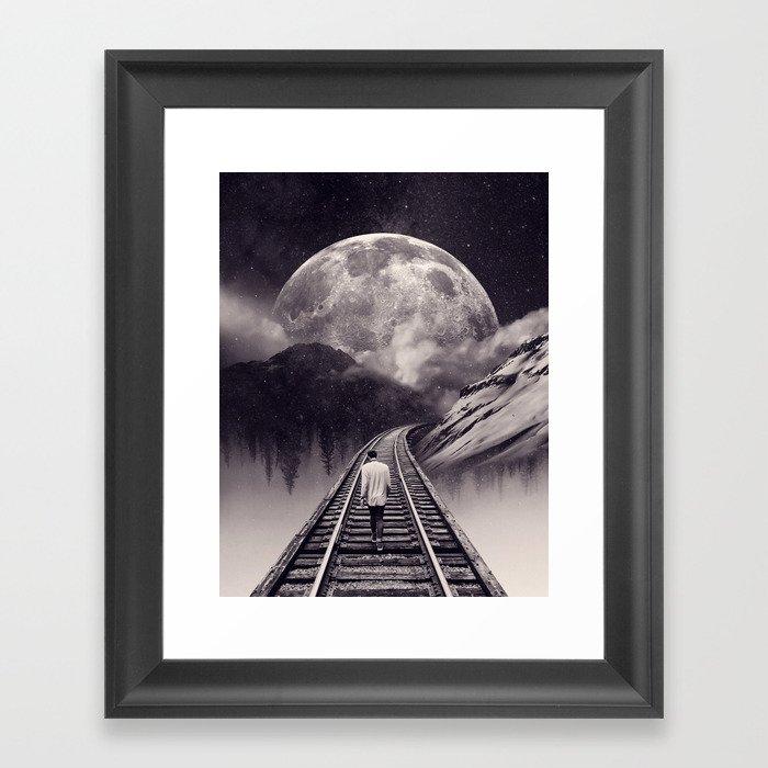 Whimsical Journey Framed Art Print