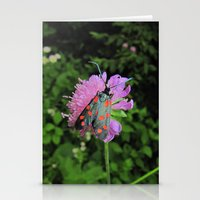 moth Stationery Cards featuring moth by giol's